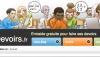 Faismesdevoirs remplacé par un nouveau site : Devoirs.fr?