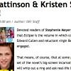 Robert Pattinson et Kristen Stewart fiancés (Twilight, New Moon, Eclipse)