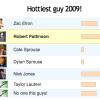 Robert Pattinson, Zac Efron, Taylor Lautner dans les hommes les plus «hot»