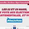 Elections départementales 2015 : abstention et résultats à suivre sur Twitter!