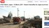 Vidéo tsunami Japon : des journalistes au coeur des décombres!