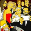 Les Simpson parodient le selfie des Oscars 2014 !
