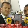 Canal Plus et iTélé interrompues par des manifestants : vidéos !