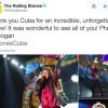 VIDEOS : les Rolling Stones en concert à Cuba