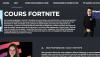 Fortnite : des cours particuliers en ligne pour progresser