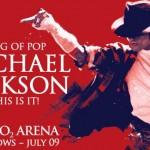 Michael Jackson Concerts Londres live photos