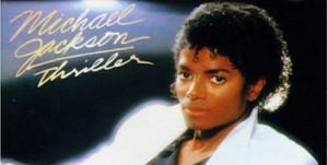 Michael Jackson : pochette de Thriller