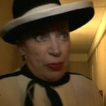 Geneviève de Fontenay à la recherche de Miss Nationale 2011 sur W9 le 21 février