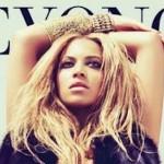 Beyonce sur la pochette de son album