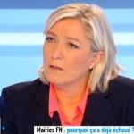 Marine Le Pen sur Canal Plus