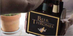 La bière de Game of Thrones saison 3