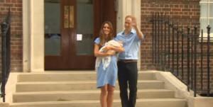 Royal Baby Boy avec Kate et William