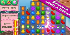 Candy Crush Saga : le jeu mobile