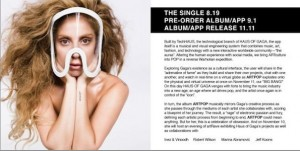 Lady Gaga prépare un nouvel album