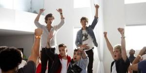 One Direction, images du clip Best Song Ever