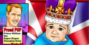 Royal Baby Boy : sa vie déjà en BD