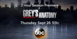 Grey's Anatomy saison 10  dès le 26 septembre