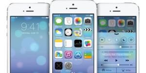 iOS7 sur un iPhone 5