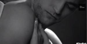 Robert Pattinson dans une vidéo pour Dior
