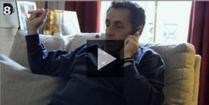 Nicolas Sarkozy sur D8