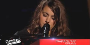 The Voice 3 avec Marina D'Amico