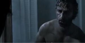 Rick dans la série The Walking Dead saison 4