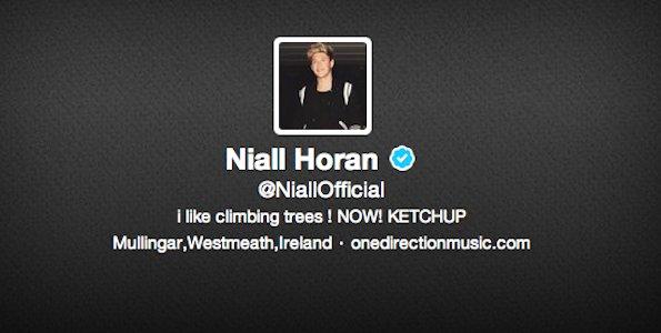 Twitter de Niall Horan