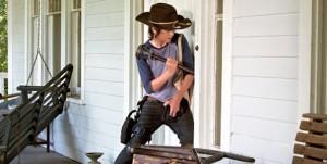 The Walking Dead saison 4 avec Carl