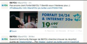 B&You sur Twitter