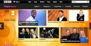 Site internet de BBC Radio 2