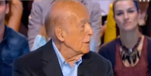 Valéry Giscard D'estaing sur TF1