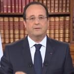 Regardez le lapsus de François Hollande lundi soir