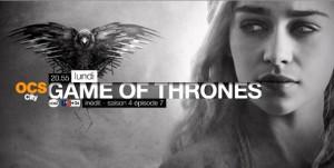 Game of Thrones saison 4 épisode 7