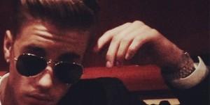 Justin Bieber en mai 2014
