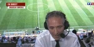 Christian Jeanpierre pour la Coupe du Monde 2014