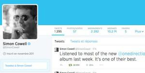 Le Twitter de Simon Cowell