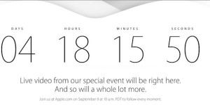 Keynote d'Apple pour l'iPhone 6