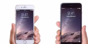 iPhone 6 et iPhone 6 Plus en vidéo