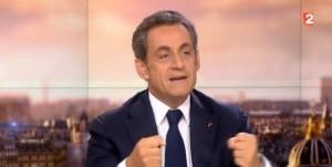 JT de 20h de France 2 : Nicolas Sarkozy  invité