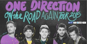 On The Road Again Tour : One Direction