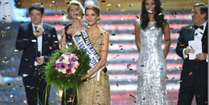 Miss France 2015 avec Camille Cerf sur TF1