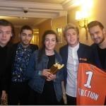 La rencontre de Pauline avec les One Direction aux NMA