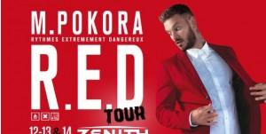 M Pokora pour le Red Tour