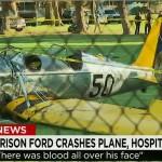 VIDEO : les images du crash de l'avion de Harrison Ford