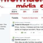 Crash tournage Dropped TF1 : les réactions des sportifs sur Twitter