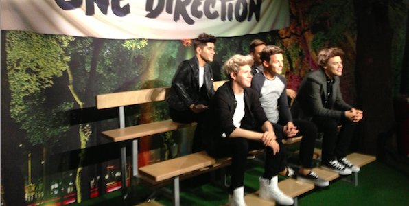 One Direction chez Mme Tussauds