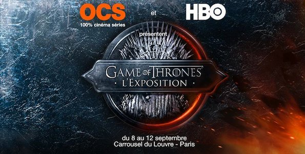 Exposition Game of Thrones à Paris