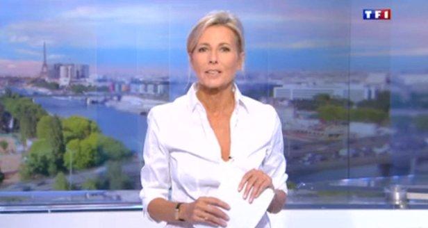 Claire Chazal sur TF1