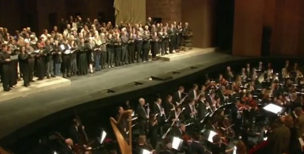Opera de New-York : La Marseillaise / Capture YouTube / All Rights Reserved