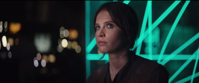 Jyn dans Star Wars Rogue One